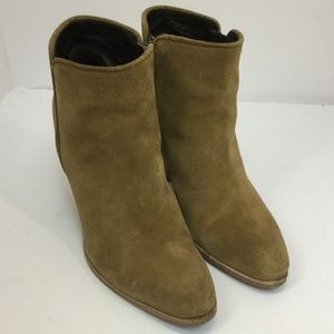 Giuseppe Zanotti Suede Ankle Boots - size 36.5